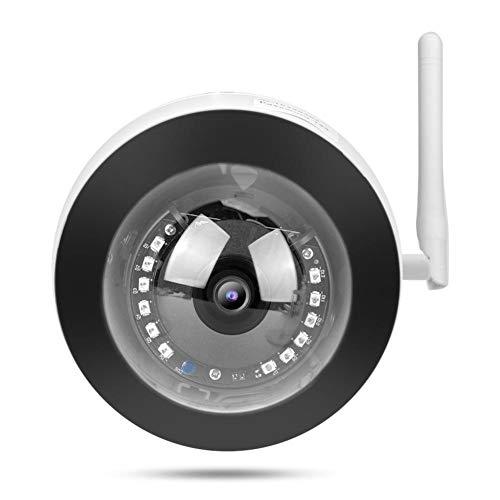 Cámara domo IP 1080P, detección de movimiento, alertas por correo electrónico, impermeable...