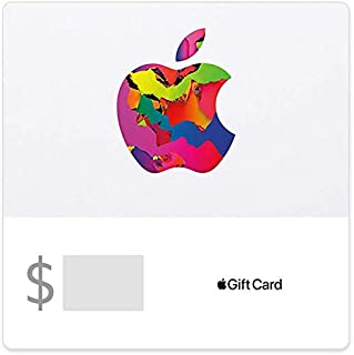 Apple Gift Card - Products, accessories, apps, games, music, movies and more (Email Delivery)