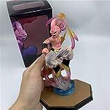 KVSW Goku Buu Humanoid Fighting Super Saiyan Doll Doll Modelo de Juguete