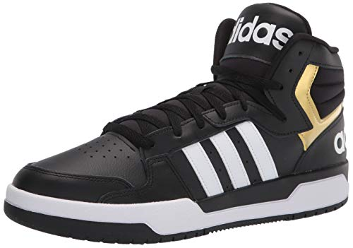 adidas Entrap Mid Basketball Shoe Core Black/White
