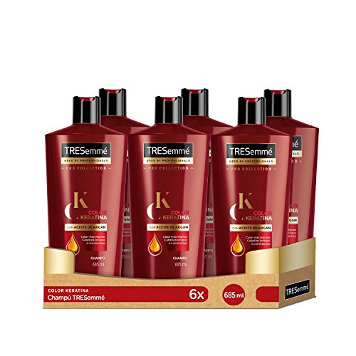 TRESemmé Champú Keratina Color 6 x 685 ML