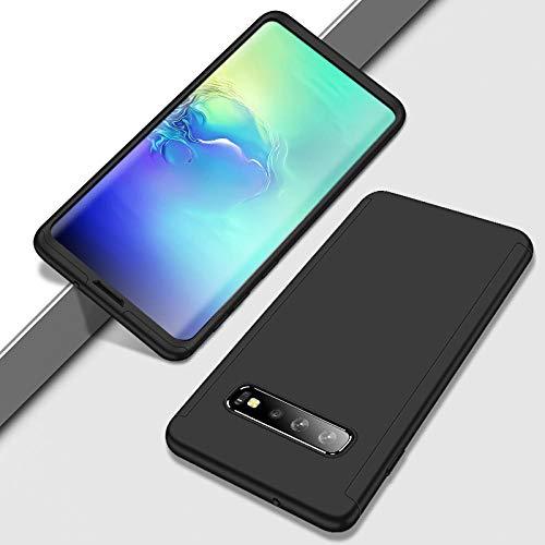xingshen 360 Funda de protección Completa para Galaxy S20 S7 Edge S8 S9 S10 Plus Note 10 Lite Pro A30 A40 A50 A70 A51 A71 Nota 8 PC-para Samsung S10_Negro