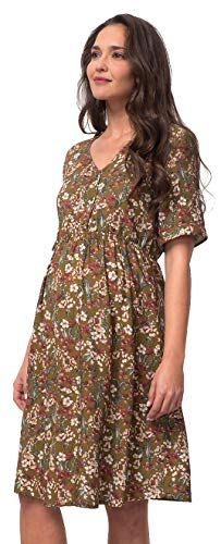 TEX 8436577891611 Vestido, Almendra, XL para Mujer
