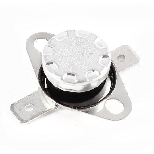 sourcing map - Ksd301 ac 250v 10a 150 centígrados en la temperatura del termostato interruptor de control