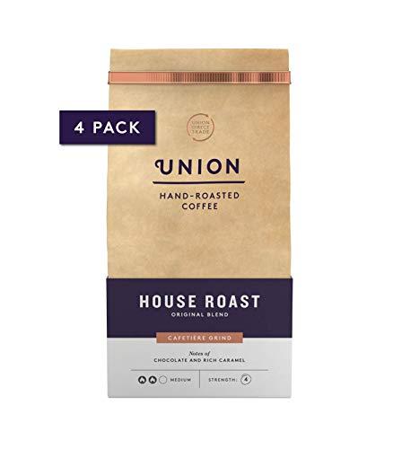 Union Hand Roasted Coffee   Medium Roast   Ground Coffee Beans   House Roast Ground Coffee 4 x 200g