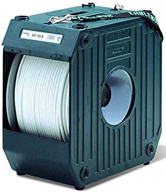 CABLEBOX / KABELBOX Koaxial-Kabel Abroller Kabelabroller DS 100 Original Cavel ( Ohne Koaxialkabel )