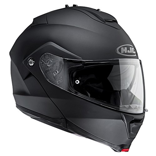 Hjc IS-MAX II Modular Polycarbonate Motorcycle Helmet, Men's women's, Im2mbl, black matt