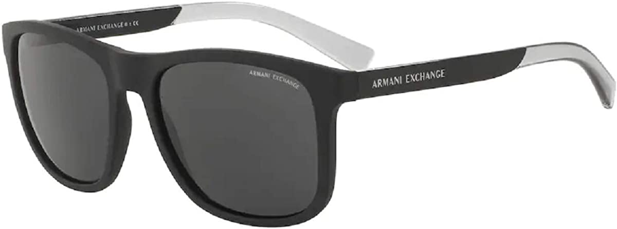 Armani Exchange AX4049SF Square Sunglasses For Men+FREE Complimentary Eyewear Care Kit