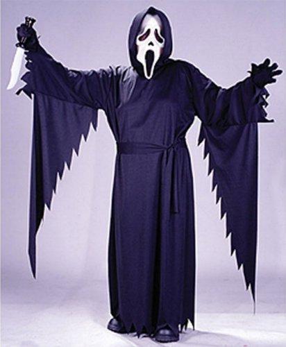 Costume de Ghostface® Junior - Scream® Taille : 14/16 ans (156 à 174 cm)