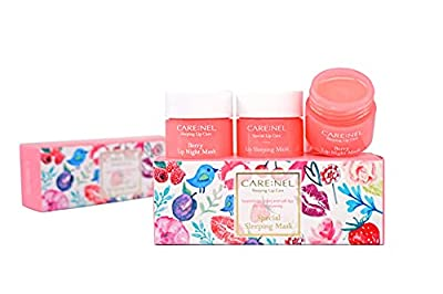 CARENEL Korean Skin Care Lip Sleeping Mask 5g(3 Set) - Maintaining moist lips all day long - Lip gloss and Moisturizers - Night Treatments Lip balm Chapped for Cracked lips, Dry lips, wrinkles lips by Carenel