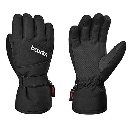 LISM Skihandschuhe für Kinder - Winter Wasserdichte und Winddichte Warm Handschuhe Atmungsaktive Isolierte Thermo handschuhe für Skifahren Skaten Snowboarden Schaufeln unter -30 ℉