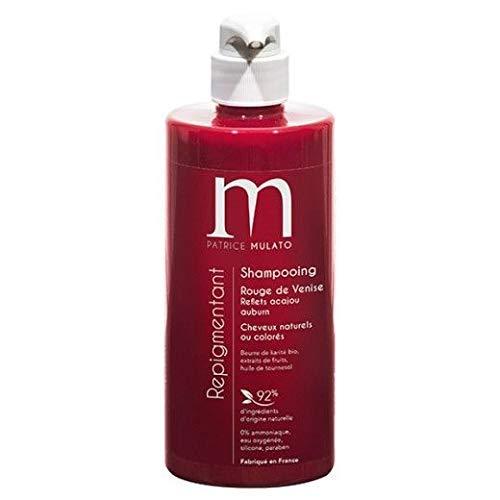 Mulato MUL042 Shampoo zur Farbauffrischung 500 ml, Rot