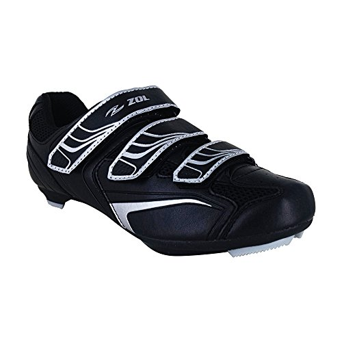 ZOL Centurion 3-Bolt Road Cycling Shoes and SPD Compatible 43