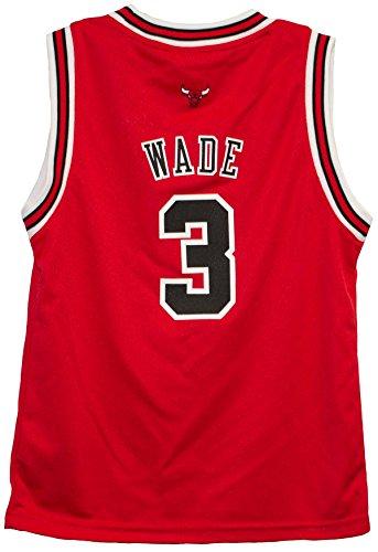 Dwyane Wade Chicago Bulls Preschool Away Adidas NBA Jersey (Medium 5/6)