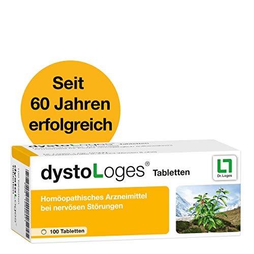 dystoLoges, 100 Tabletten, homöopathisches Arzneimittel - bei nervöser Unruhe und Schlafstörungen