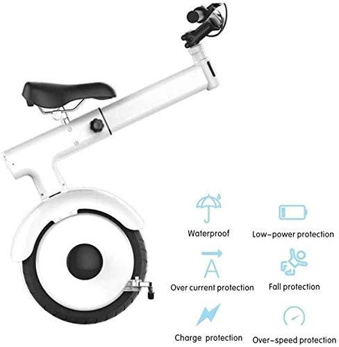 CLOTHES Elektro-Einrad Elektro-Motorrad-Roller for Erwachsene EIN Rad Selbst Balancing Roller 800W 60V Faltbarer Monowheel elektrische Einrad mit Sitz (Größe: 50 km) [AKTUALISIERUNG] (Size : 25km)