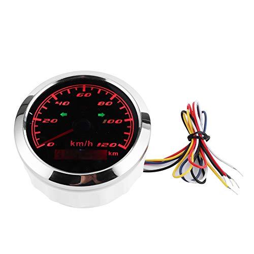 Odómetro LCD Medidor de velocidad GPS Instrumento de coche impermeable de 3,3 pulgadas para piezas de repuesto para accesorios de coche
