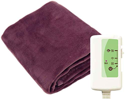 フリーダン 電気毛布 敷き 暖房面重視 フランネル ふわふわ 洗える ダニ退治 140×80cm ピンク FCA551P