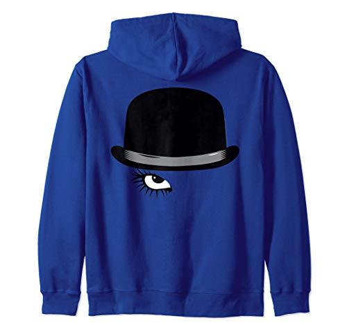 A Clockwork Orange Hat and Eye Zip Hoodie