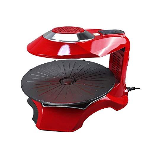 CHENMAO Multifuncional de Gran Capacidad Parrilla eléctrica, Hogar sin Humo Que Cocina la Barbacoa Placa es fácil de Limpiar
