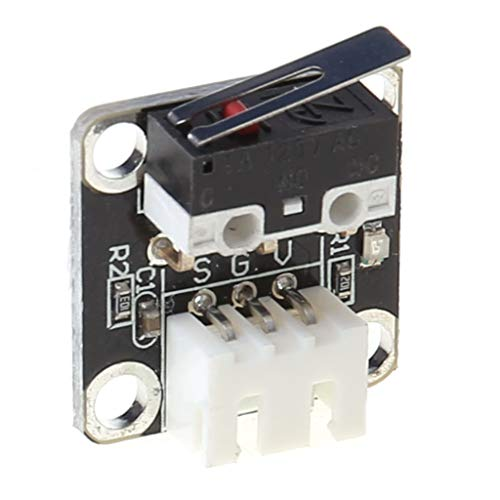 CARRYKT 5PCS X/Y Axis Limit Switch 3Pin N/O N/C Control Micro Switch for CR-10 Ender3 3D Printer Parts