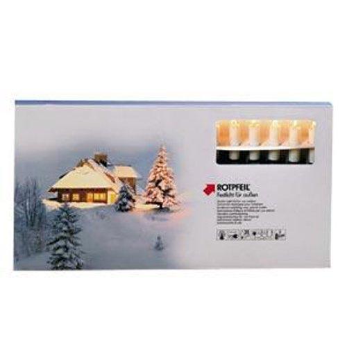Rotpfeil LED-Schaftlampen 3 x E10 0.1-0.2 W, warmweiß - klar 871 083 5890