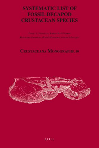 Systematic List of Fossil Decapod Crustacean Species (Crustacean Monographs, Band 10)