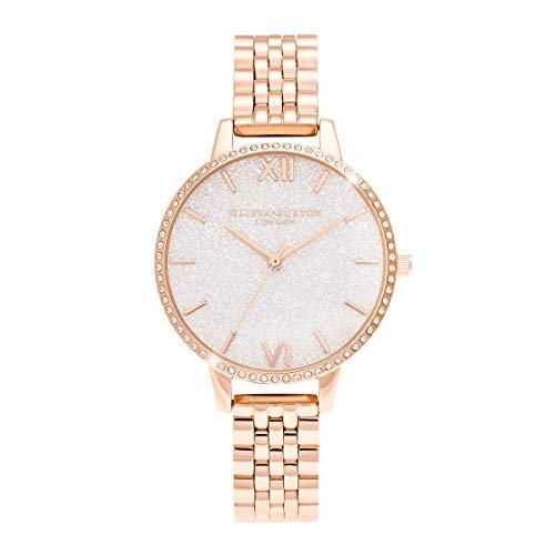 Olivia Burton Damen-Uhren Analog Quarz One Size Roségold 32012954