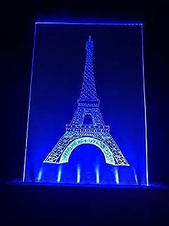 Lampada Torre Eiffel (Multicolore, Art Deco)