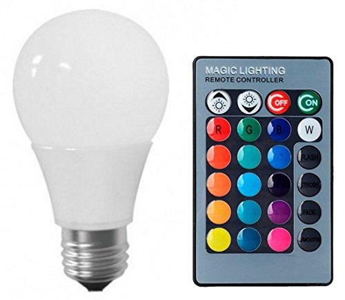 Lâmpada LED Bulbo 05W RGB