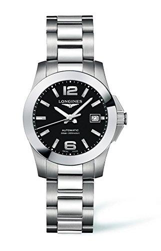 Longines Reloj de Pulsera analógico automático para Mujer de Acero Inoxidable L32764586