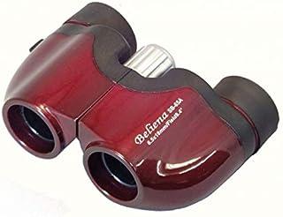 MIZAR(ミザールテック) 双眼鏡 6.5倍 18mm 口径 ポロプリズム式 コンパクト ワイン SB-65A-WI