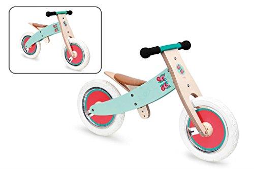 Scratch 276181440 Bicicleta Mariposa 2 en 1, Niñas, Turques