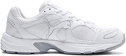PUMA Axis, Zapatillas Unisex Adulto, Blanco White/High Rise, 36 EU
