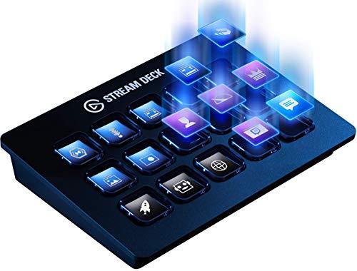 Elgato Stream Deck - Controlador para contenido en directo, 15 teclas LCD personalizables, soporte ajustable, Windows 10… 3