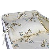 BlueberryShop juego de ropa de cama de algodón | funda de edredón 90 x 120 cm...