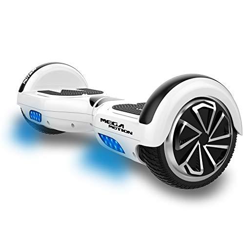 MARKBOARD Hoverboard Scooter autobilanciato Hoverboard autobilanciato da 6,5 Pollici a Due Ruote con Altoparlante Bluetooth e luci a LED Scooter