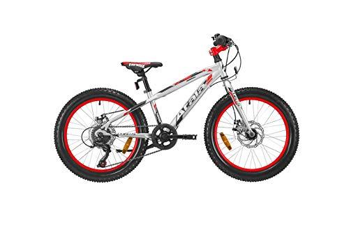 Atala Bici Bambino Snowball 20' 6V Ultralight/NeonRedMatt