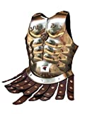 Coraza de latón antiguo medieval romana muslos griegos con cinturón de delantal