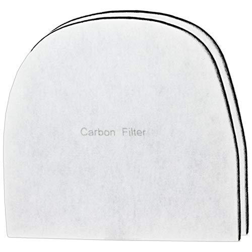 Spares2go - Filtro de carbono compatible con Ebac 2000 Series 2000e 2200e 2400e deshumidificador (2 unidades)