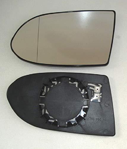 Spiegel Spiegelglas links Zafira A 1999 bis 2005 beheizbar für Außenspiegel elektrisch und manuell verstellbar geeignet