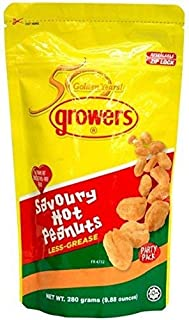 Growers Peanuts Savoury Hot 280g