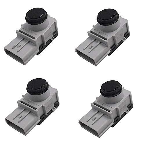 Huante - Lote de 4 detectores de inversión para sensor de aparcamiento de parachoques PDC de coche para Santa Fe 95720-A1000 95720A1000
