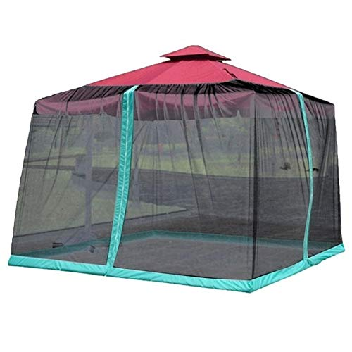 LYYJIAJU Outdoor Mosquito Net Tent Sunshade Mosquito Nets Outdoor Patio Anti-mosquito Nets Sunshade Net Cover Table Umbrella Anti-mosquito Net Cover (Color : A)
