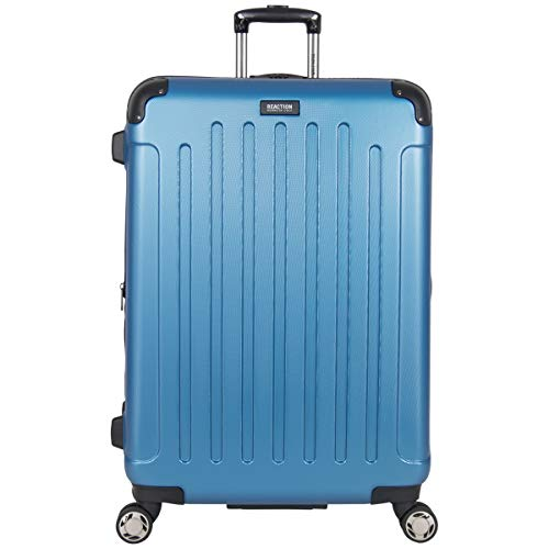 "Kenneth Cole Reaction Renegade 28"" Lightweight Hardside Expandable 8-Wheel Spinner Checked-Size Luggage, Vivid Blue, inch"