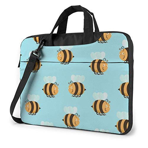 Laptop Bag Satchel Tablet,Bumblebee Notebook Sleeve Carrying Case,Laptop Shoulder Bag Ultra Thin Durable For Business Casual or School