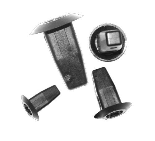 myshopx Rivets en plastique C82 - Pour protection anti-encastrement - Clips de fixation pour revêtement de portière - Clips de fixation pour pare-chocs