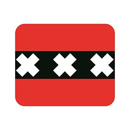 U24 Mousepad Textil Amsterdam Fahne Flagge Mauspad