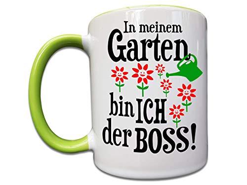 Garten Geschenk, Tasse mit Garten Spruch, Hobbygärtner Geschenke, Papa Geschenk, Mama Geschenk, Natur Liebhaber, Blumen, Pflanzen Geschenke