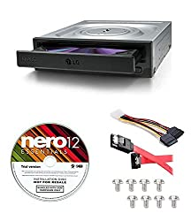 top rated LG Internal 24x Super Multi with M-DISC DVD burner (GH24NSC0B) Included in the delivery range of Nero12 … 2021